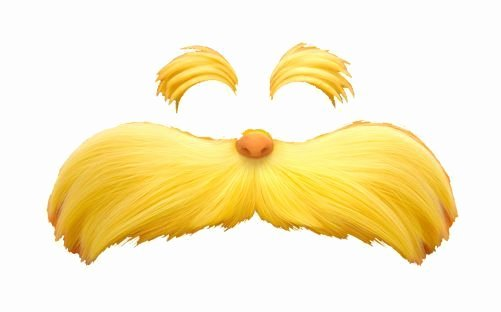 Lorax Mustache Printable Lovely the Lorax Eyebrow Template Free Download Elsevier