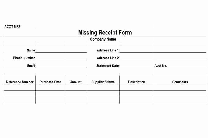 Lost Receipt form Template Beautiful Internal Control Procedures for Small Business Checklist