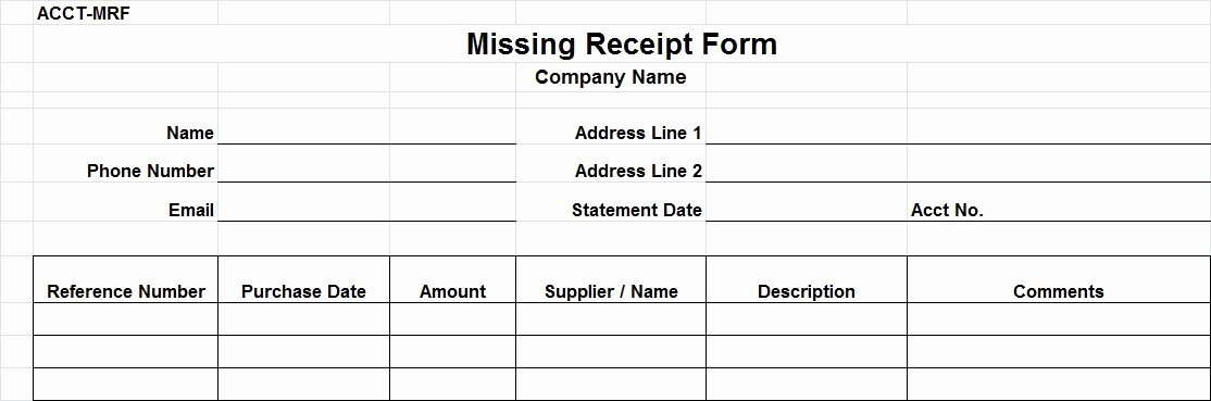 Lost Receipt form Template Best Of Auditing Procedures for Accounts Payable Wroc Awski
