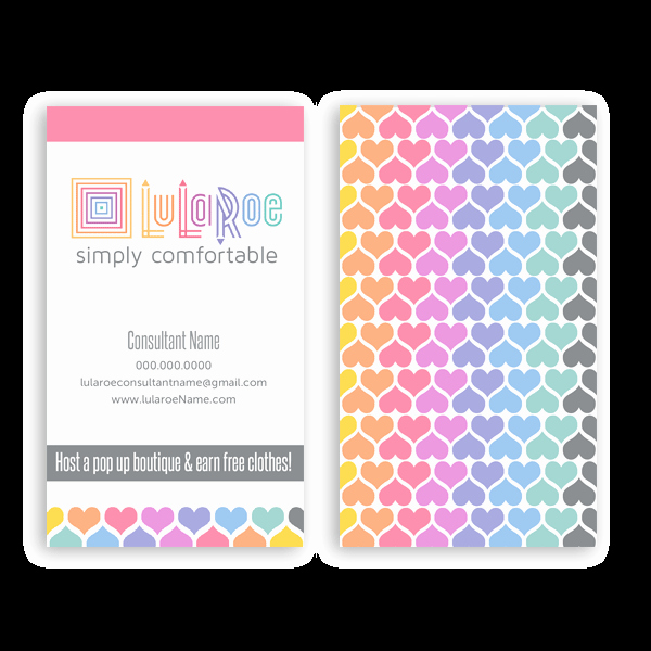 Lularoe Business Card Template Beautiful Lularoe Marketing – Itw Visions