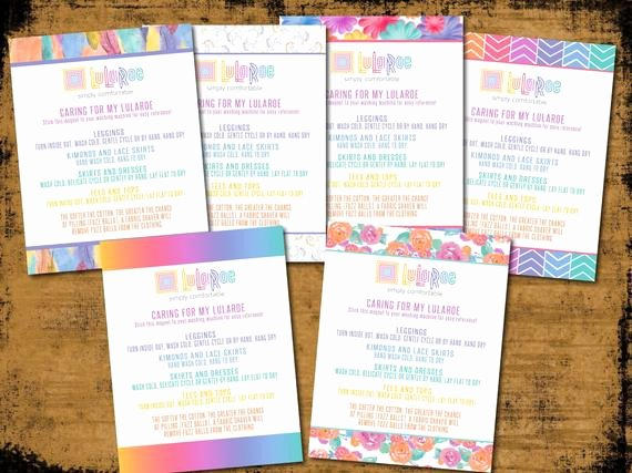 Lularoe Business Card Template Elegant Lularoe Care Cards Daisies Digital Image Magnet by Shindiggz