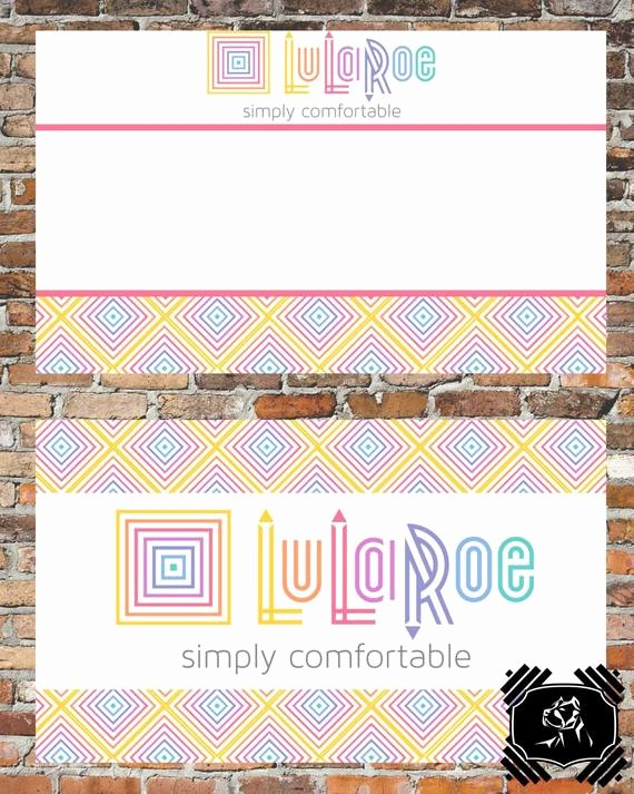 Lularoe Business Card Template Fresh Lularoe Business Card Customizable Business by
