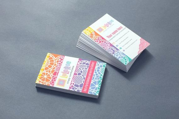 Lularoe Business Card Template Lovely Lularoe Lace Pattern Digital Business Card by Fyunicorn