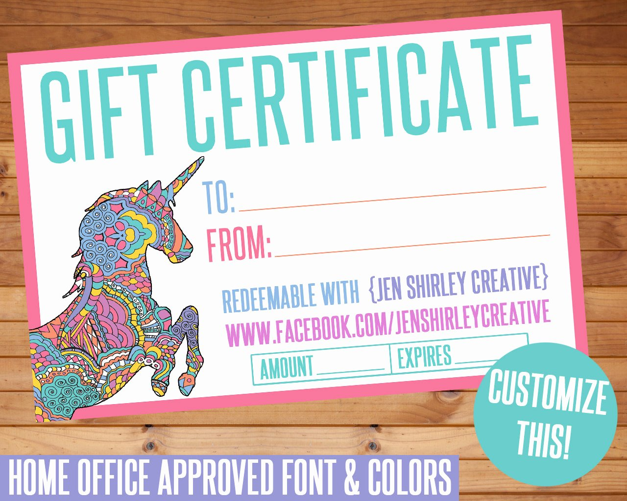 Lularoe Business Card Template Luxury Lularoe Gift Certificate Template