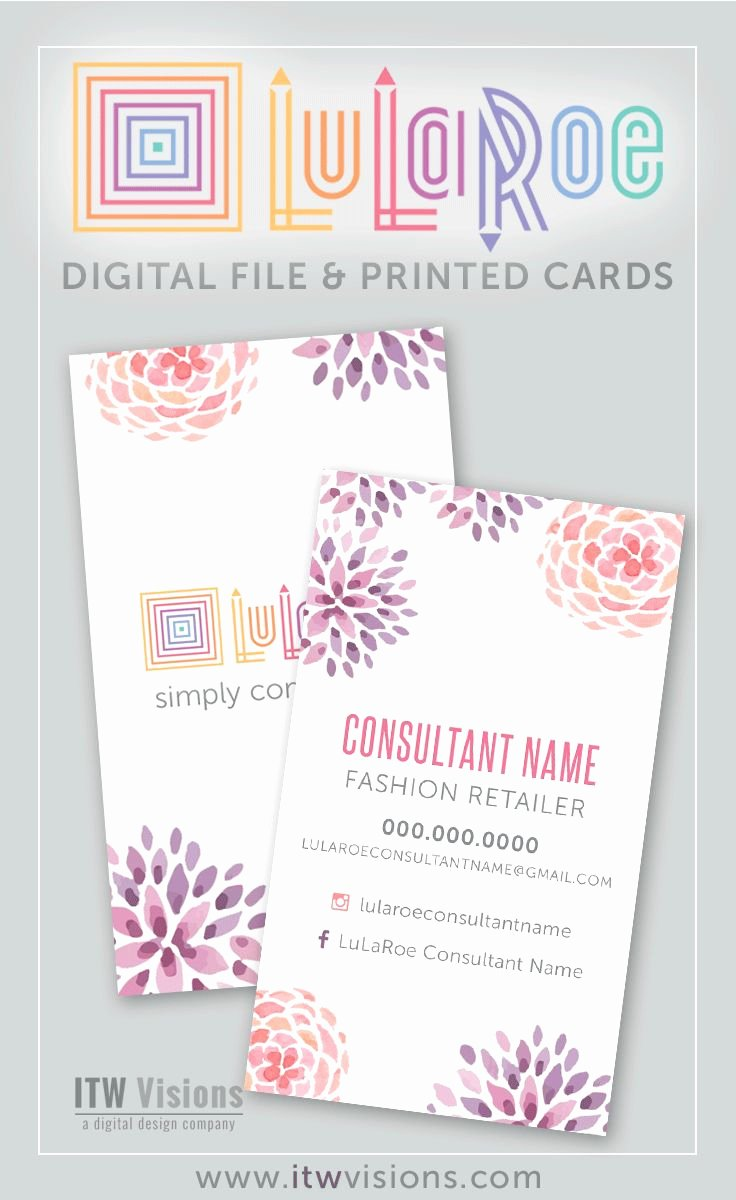 Lularoe Business Card Template New top 25 Best Lularoe Business Cards Ideas On Pinterest