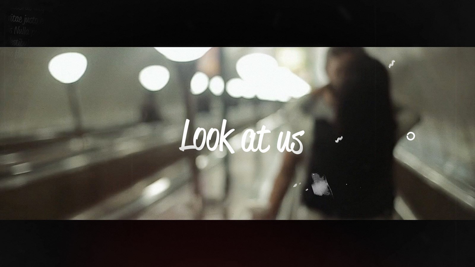 Lyric Video after Effects Fresh Lyrics Template Grunge after Effects Templates