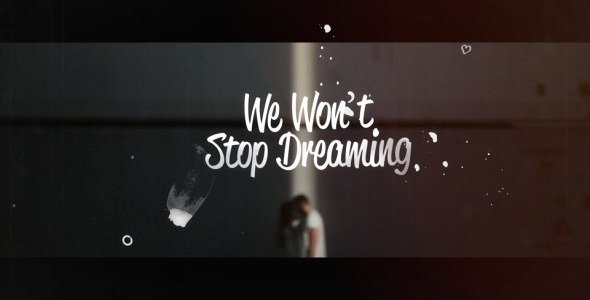 Lyric Video after Effects Lovely Videohive Lyrics Template Free Download