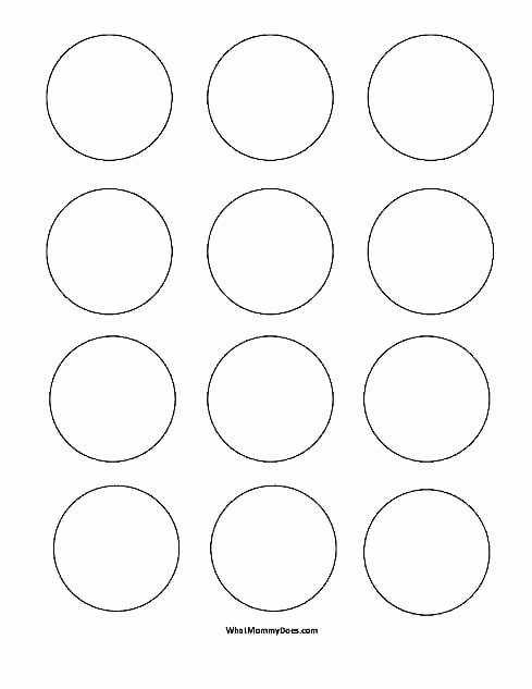Macaron Template 2 Inch Awesome Circle Templates Small 2 Inch Shapes Pdf Edrive