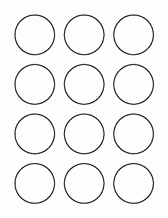 Macaron Template Pdf Best Of 2 Inch Circle Pattern Use the Printable Outline for