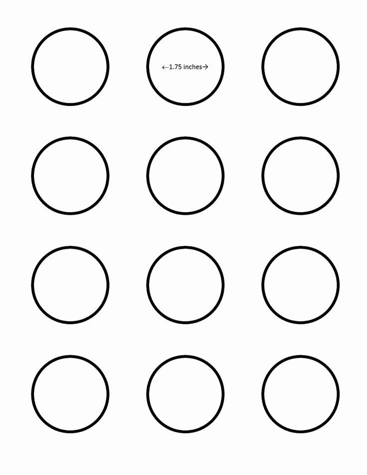 Macaron Template Printable Beautiful Macaron 1 75 Inch Circle Template Google Search I Saved
