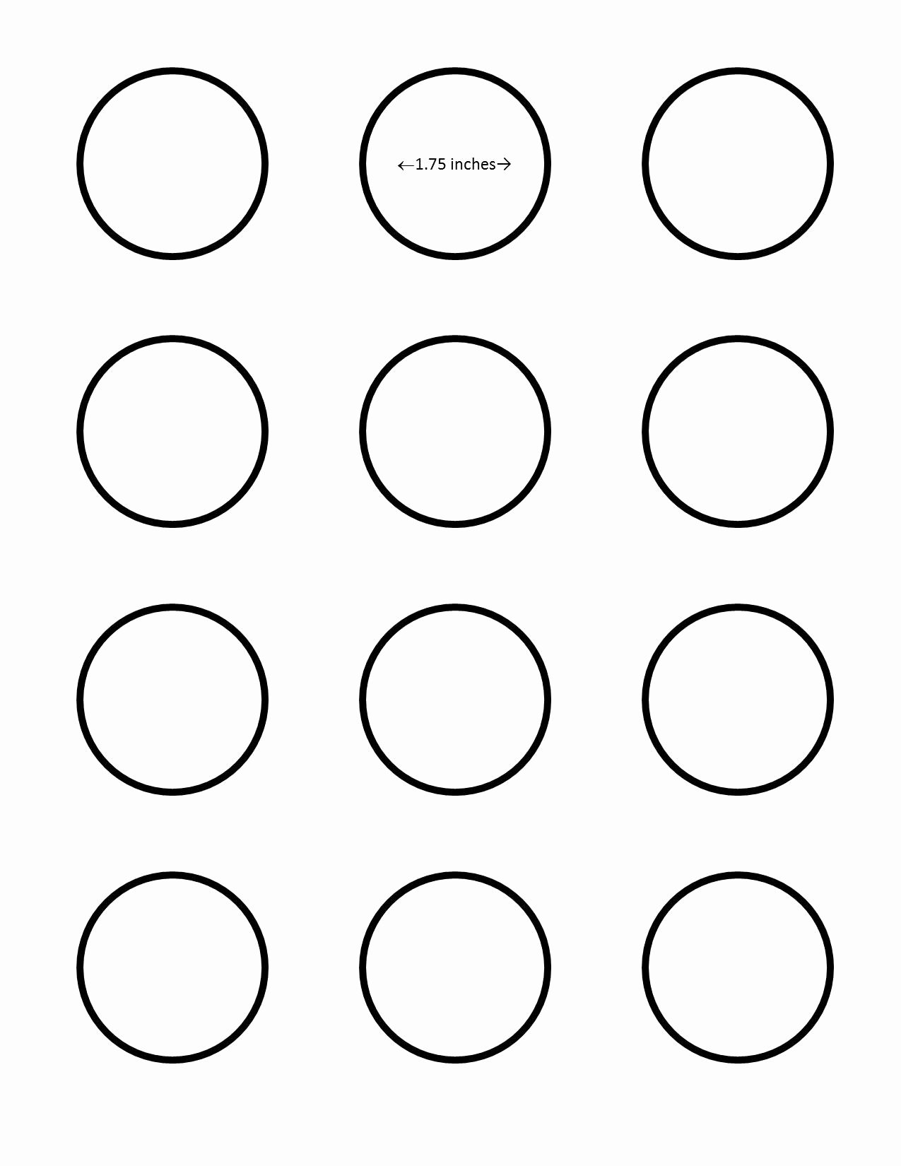 Macaron Template Printable Best Of All Sizes
