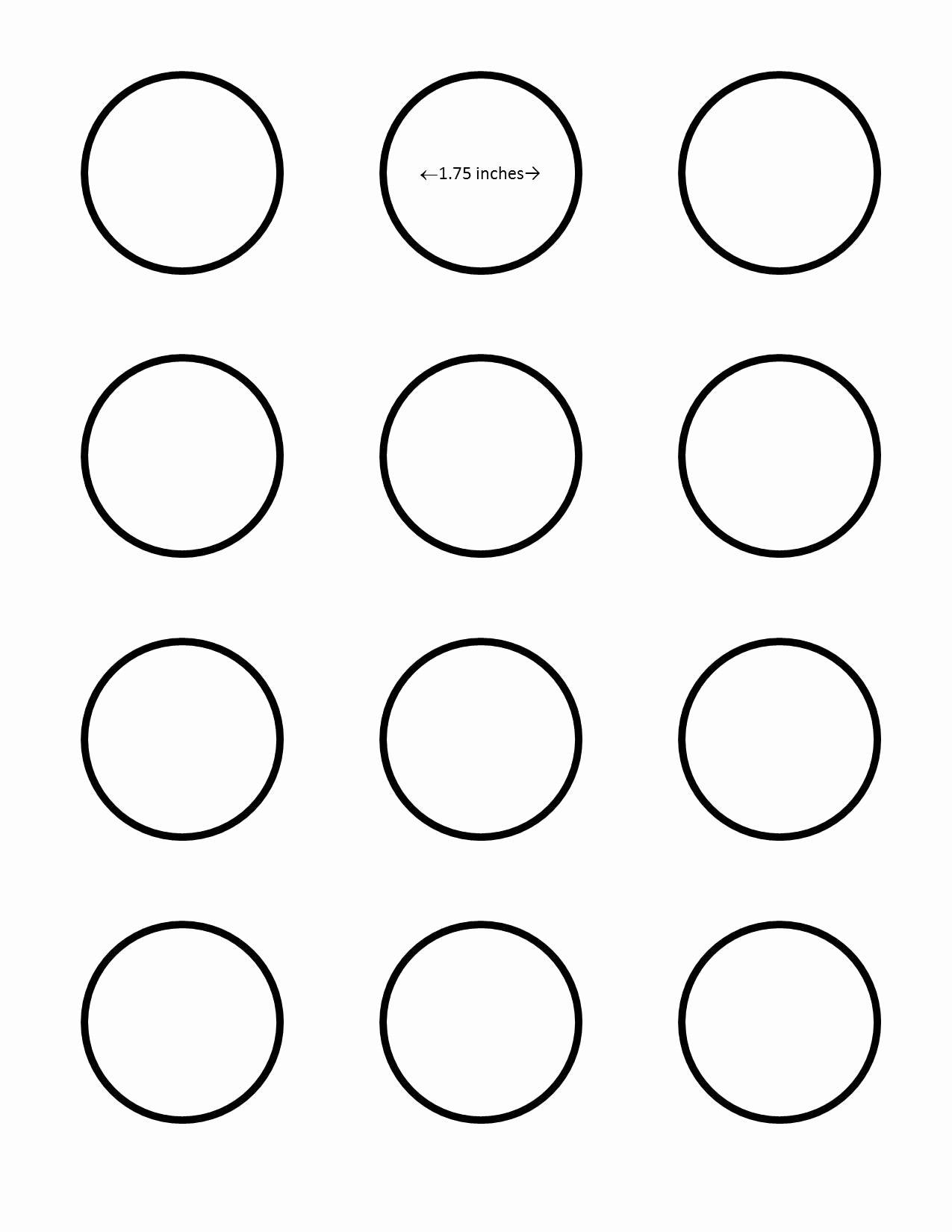 Macaron Template Printable Inspirational All Sizes