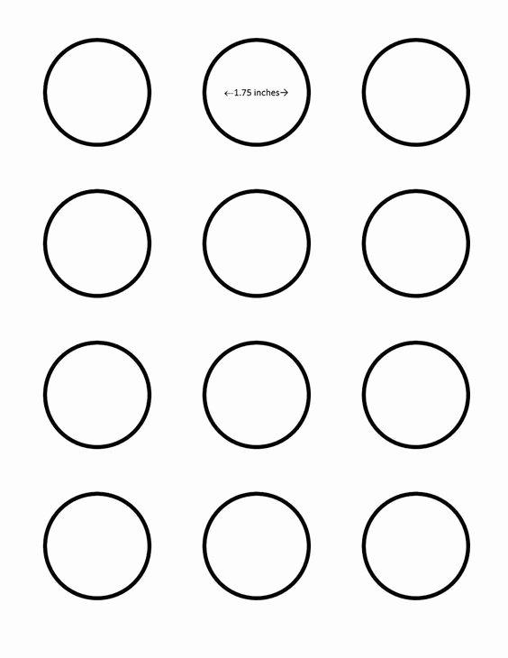 Macaron Template Printable Luxury Macaron 1 75 Inch Circle Template Google Search I Saved
