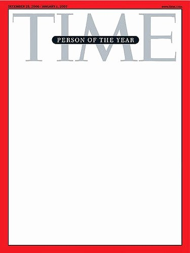 Magazine Cover Blank Awesome Time Magazine Template