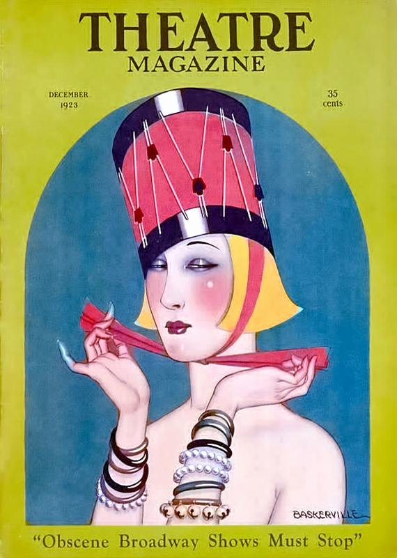 Magazine Cover Blank Best Of theatre Magazine Cover Dec 1923 Christmas Drummer Hat