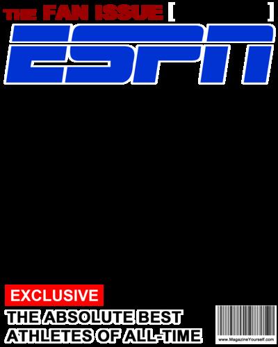 Magazine Cover Blank Elegant Create Espn Magazine Covers