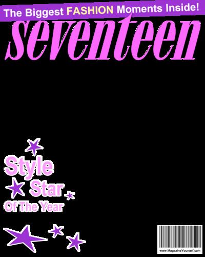 Magazine Cover Blank Fresh Create Seventeen Magazine Covers