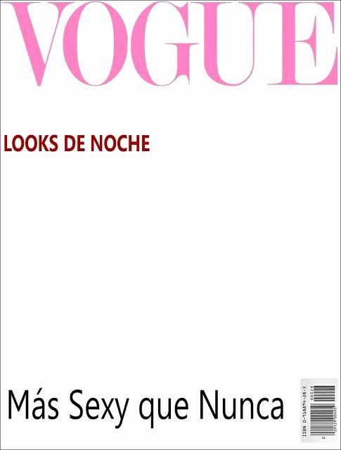 Magazine Cover Blank Fresh Plantilla Para Invitacion formato Revista