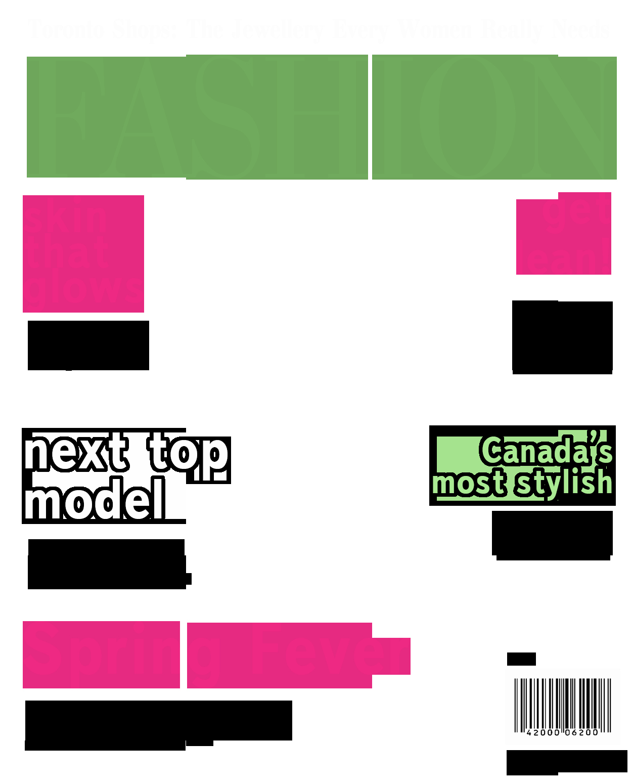 Magazine Cover Blank New Magazine Cover Template