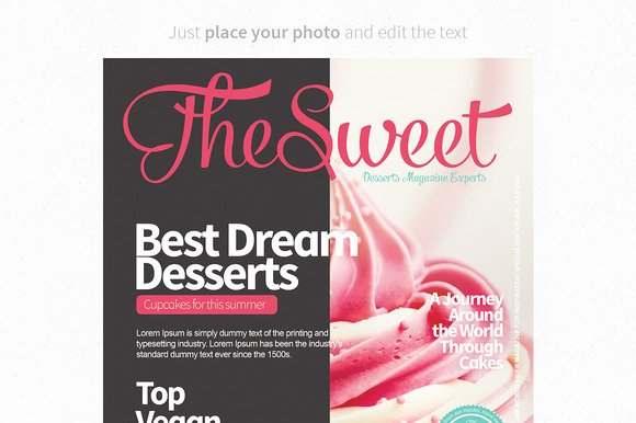 Magazine Cover Templates Psd Best Of Magazine Covers Templates Psd Magazine Templates On