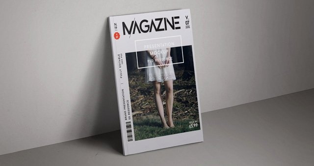 Magazine Cover Templates Psd Best Of Psd Magazine Mockup Cover Vol7