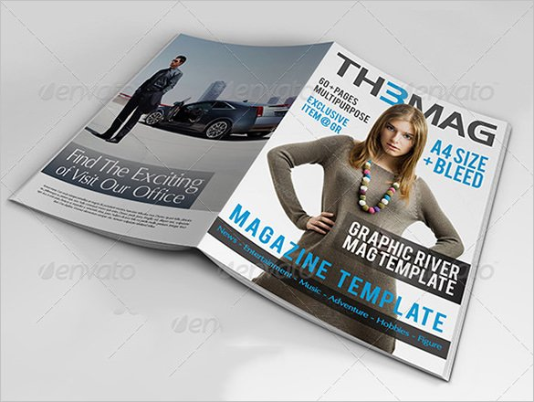 Magazine Cover Templates Psd Unique Magazine Cover Psd Templates 54 Free Psd Ai Vector