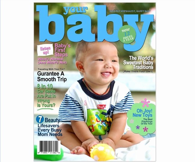Magazine Template for Microsoft Word Awesome Magazine Cover Templates Your Baby Printable Diy