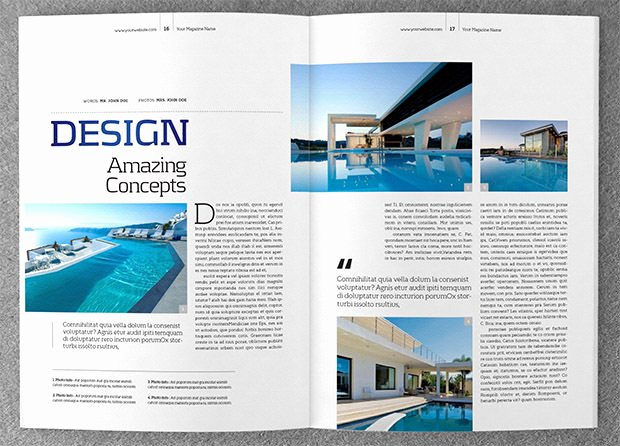 Magazine Template for Microsoft Word Inspirational Magazine Template Microsoft Word Salonbeautyform