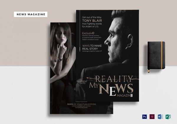 Magazine Template for Microsoft Word Luxury 66 Brand New Magazine Template Free Word Psd Eps Ai