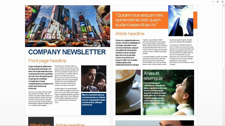 Magazine Template for Microsoft Word Luxury Infographic Template Category Page 1 Efoza