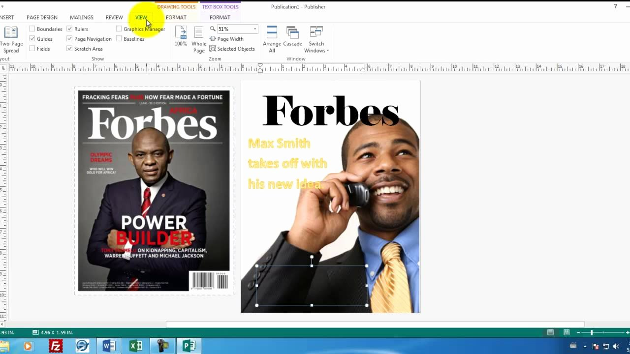 Magazine Template for Microsoft Word Luxury Microsoft Publisher 01 How to Create A Magainze Cover In