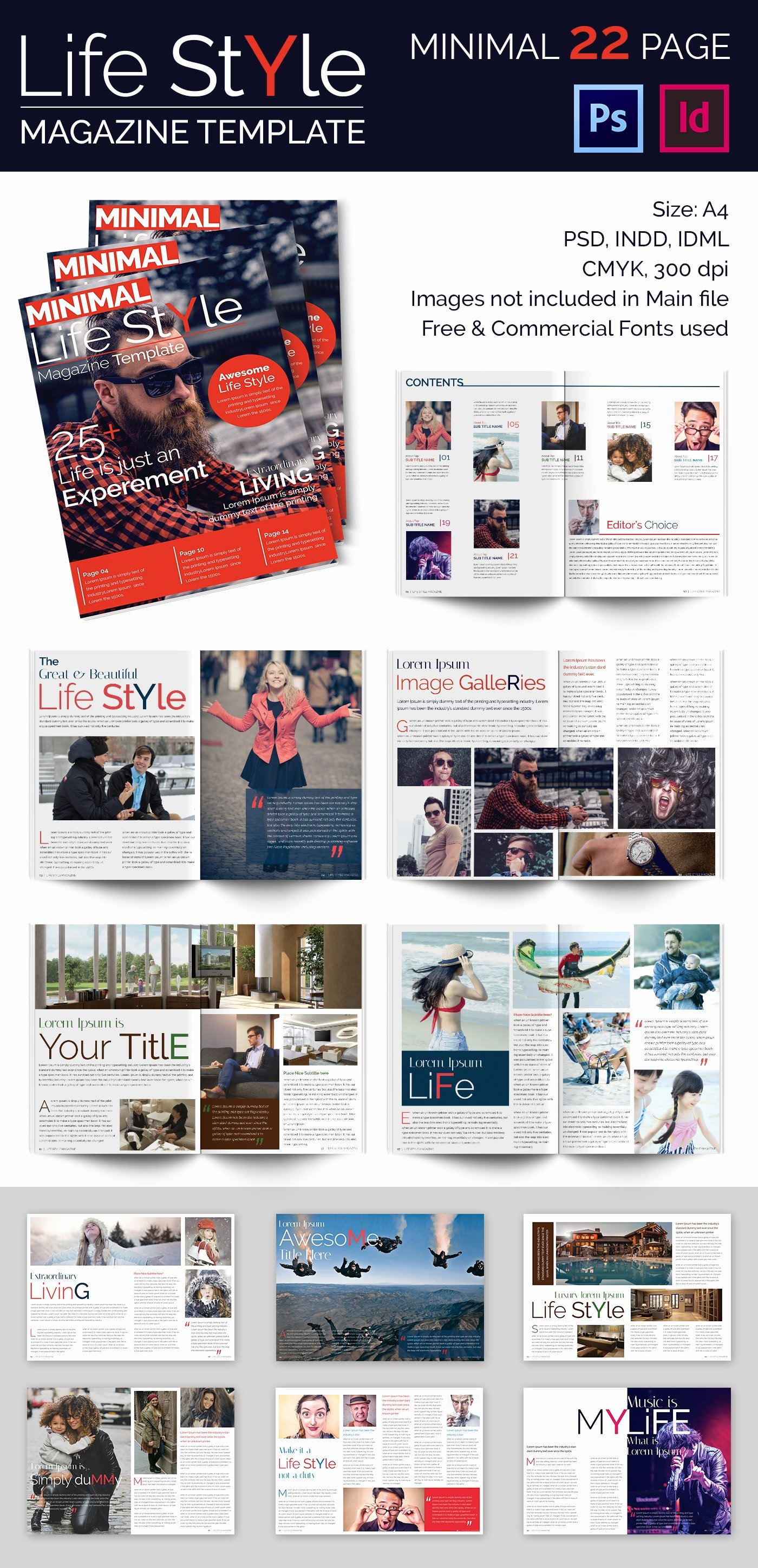 Magazine Template for Microsoft Word Unique 55 Brand New Magazine Templates Free Word Psd Eps Ai