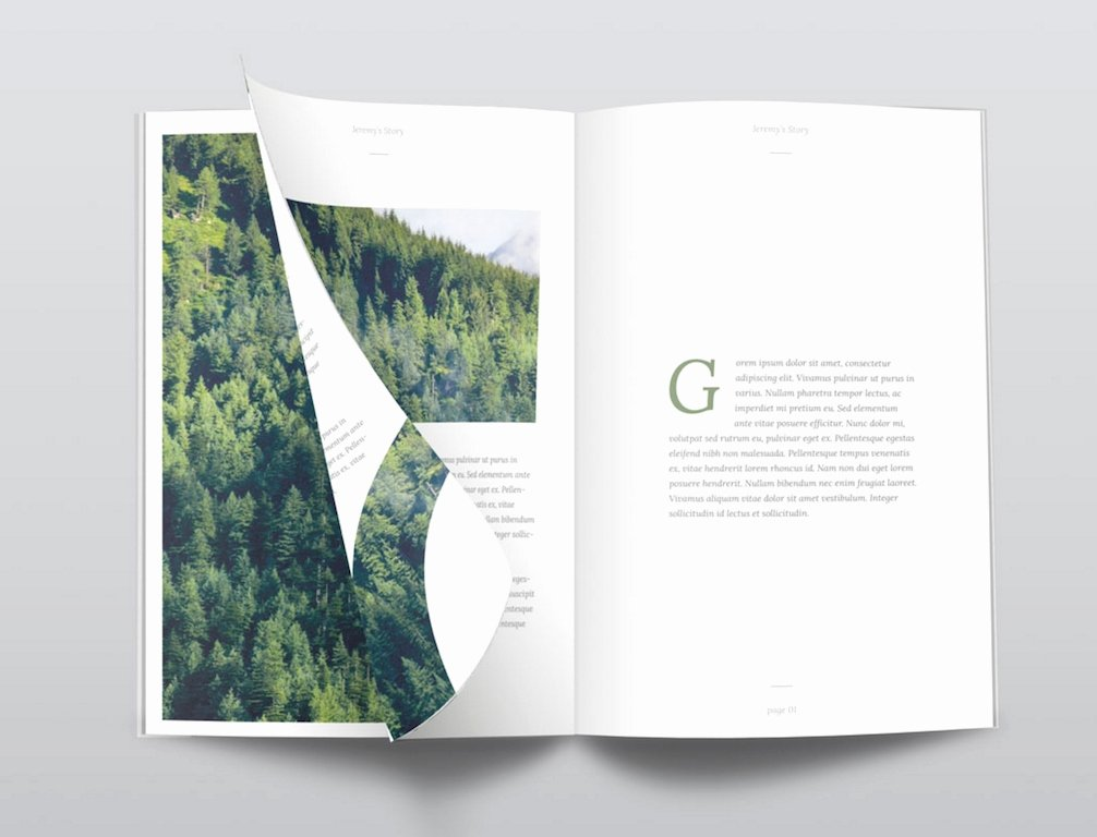 Magazine Template Free Word Elegant Free Magazine Templates