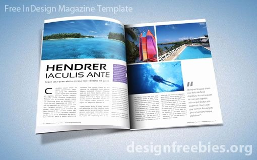Magazine Template Free Word Fresh Free Adobe Indesign Magazine Template
