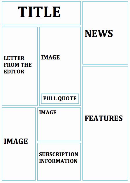 Magazine Template Free Word Inspirational Bradley Broughton as Media Flatplan Magazine Cover Design