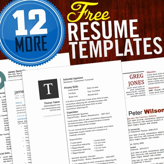 Magazine Template Free Word Luxury 12 Resume Templates for Microsoft Word Free Download