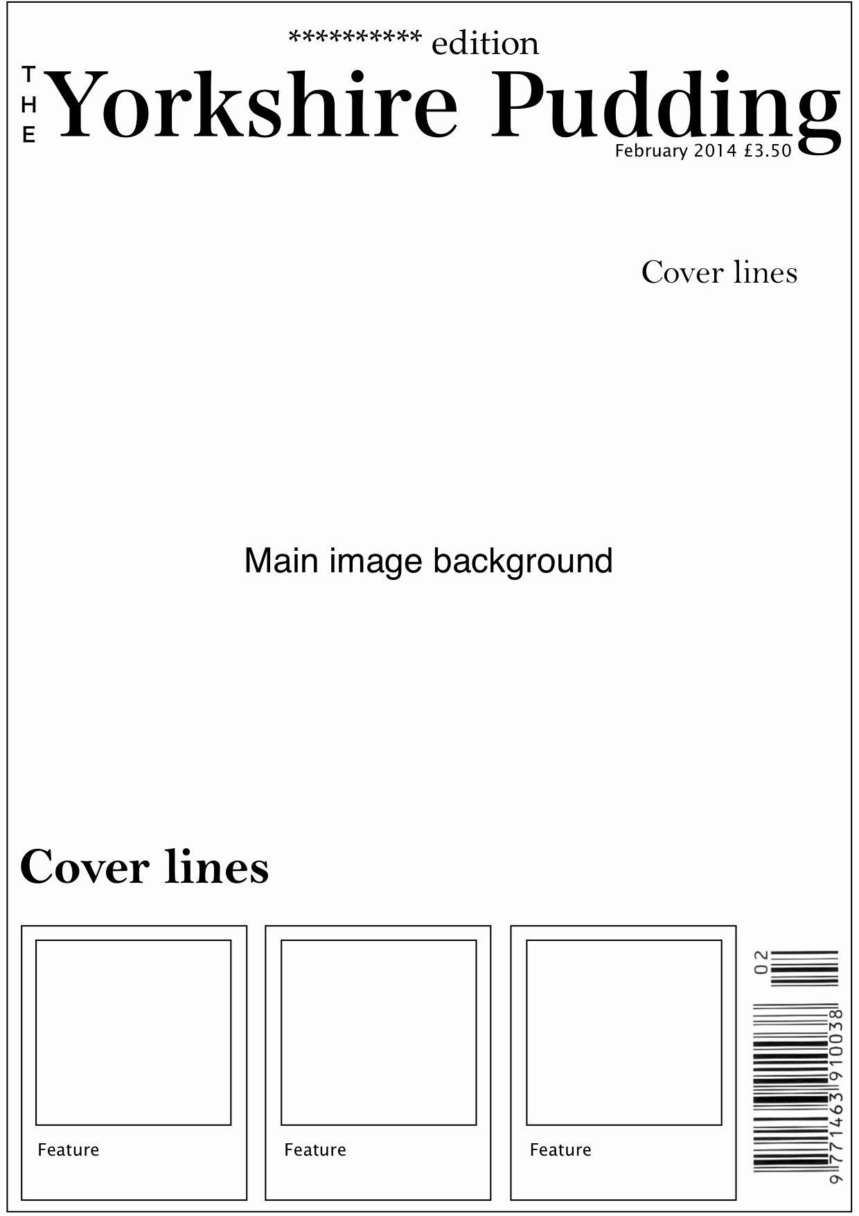 Magazine Template Free Word New Magazine Template