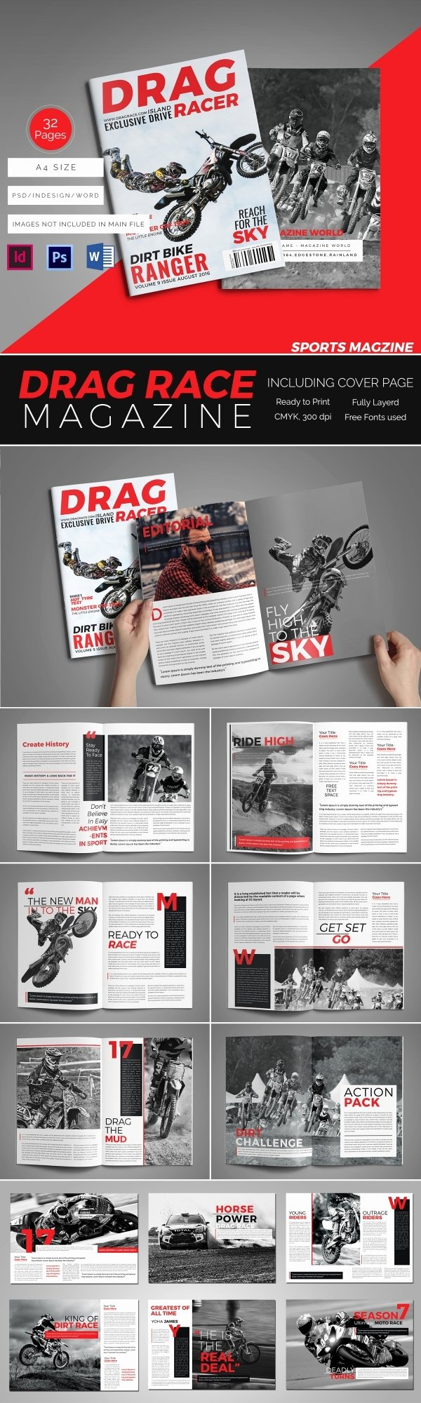 Magazine Template Free Word Unique 55 Brand New Magazine Templates Free Word Psd Eps Ai