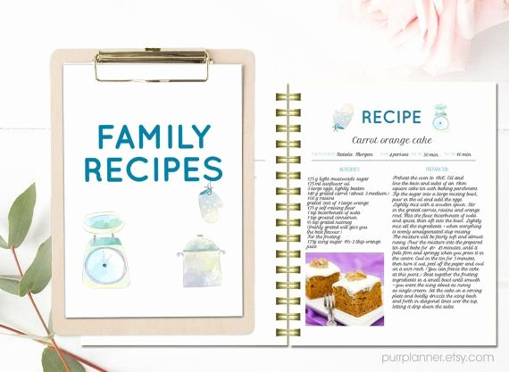 Make Your Own Cookbook Template Awesome 1000 Ideas About Cookbook Template On Pinterest