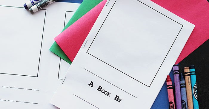 Make Your Own Cookbook Template Fresh Make Your Own Book for Kids Free Printable