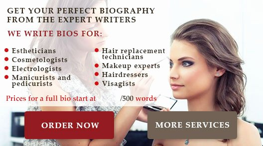 Makeup Artist Bio Examples Luxury Make Up Artist Biography Writing Expert Tips and Samples