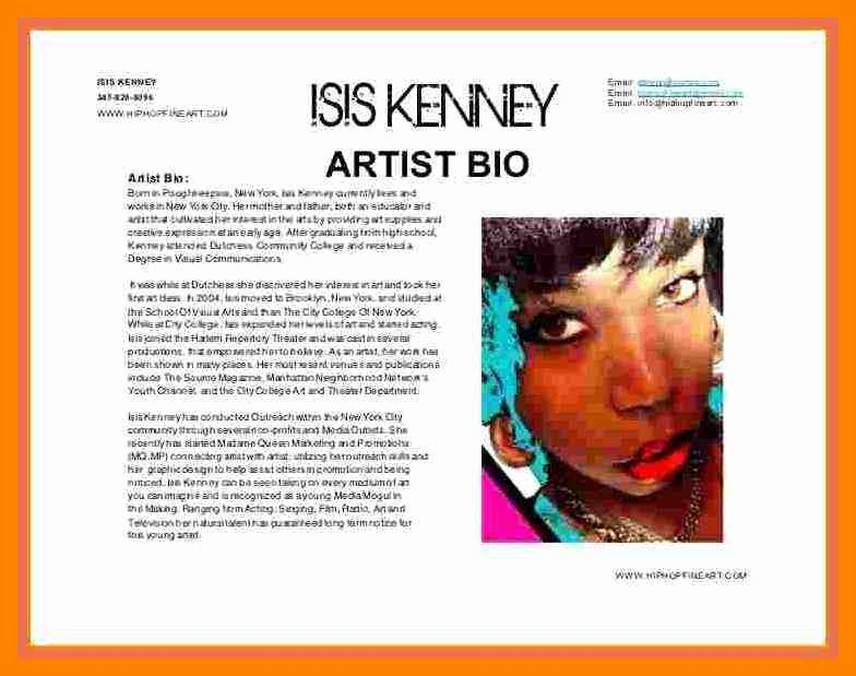 Makeup Artist Bio Examples Unique 18 Artist Biographies Examples