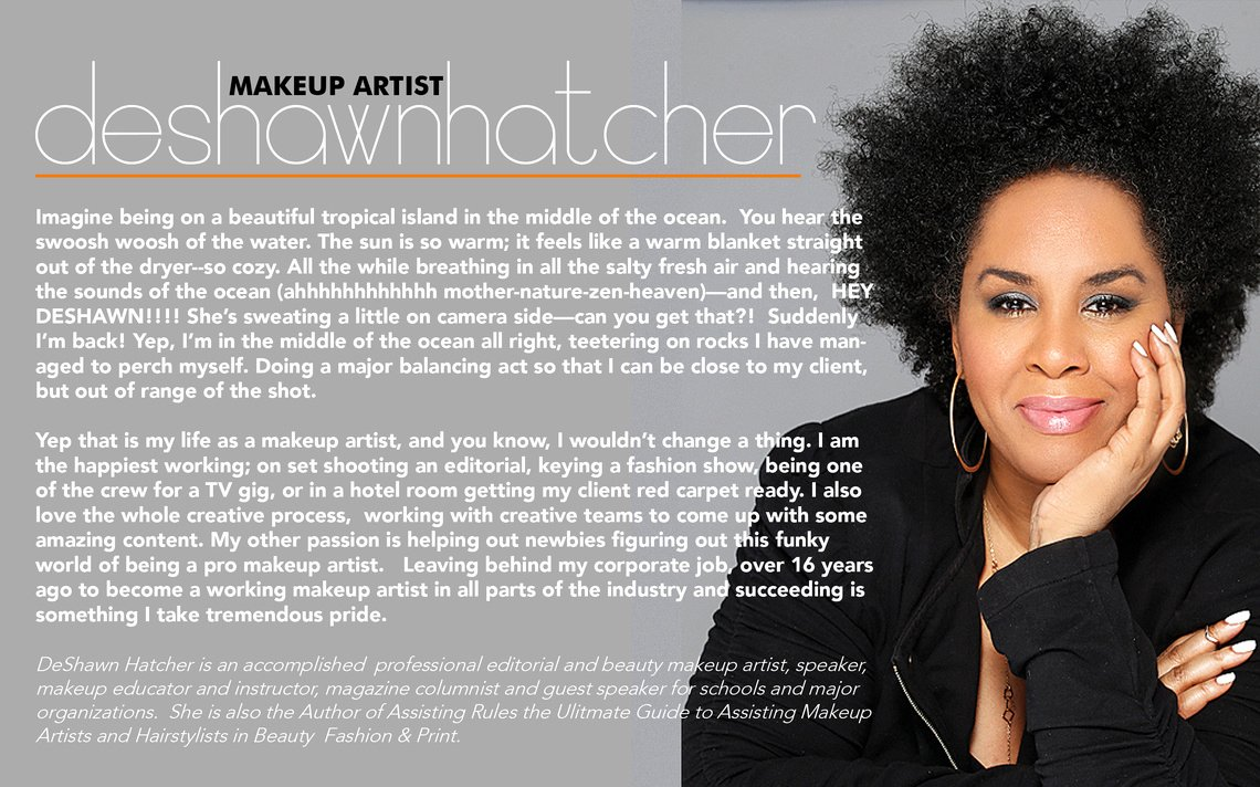 Makeup Artist Bio Samples Best Of Deshawn Hatcher Makeup Artist Bio