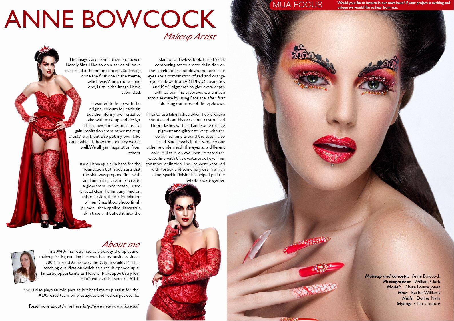 Makeup Artist Bio Samples Best Of General Beauty Fashion Shoot Magazine