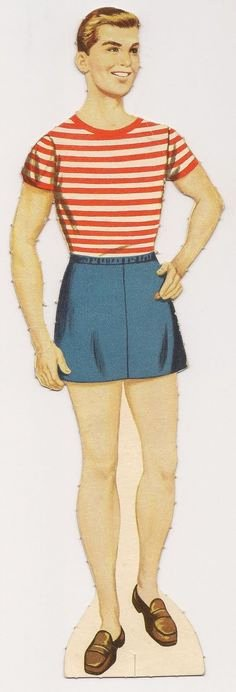 Male Paper Doll Awesome 1000 Images About Paper Dolls On Pinterest
