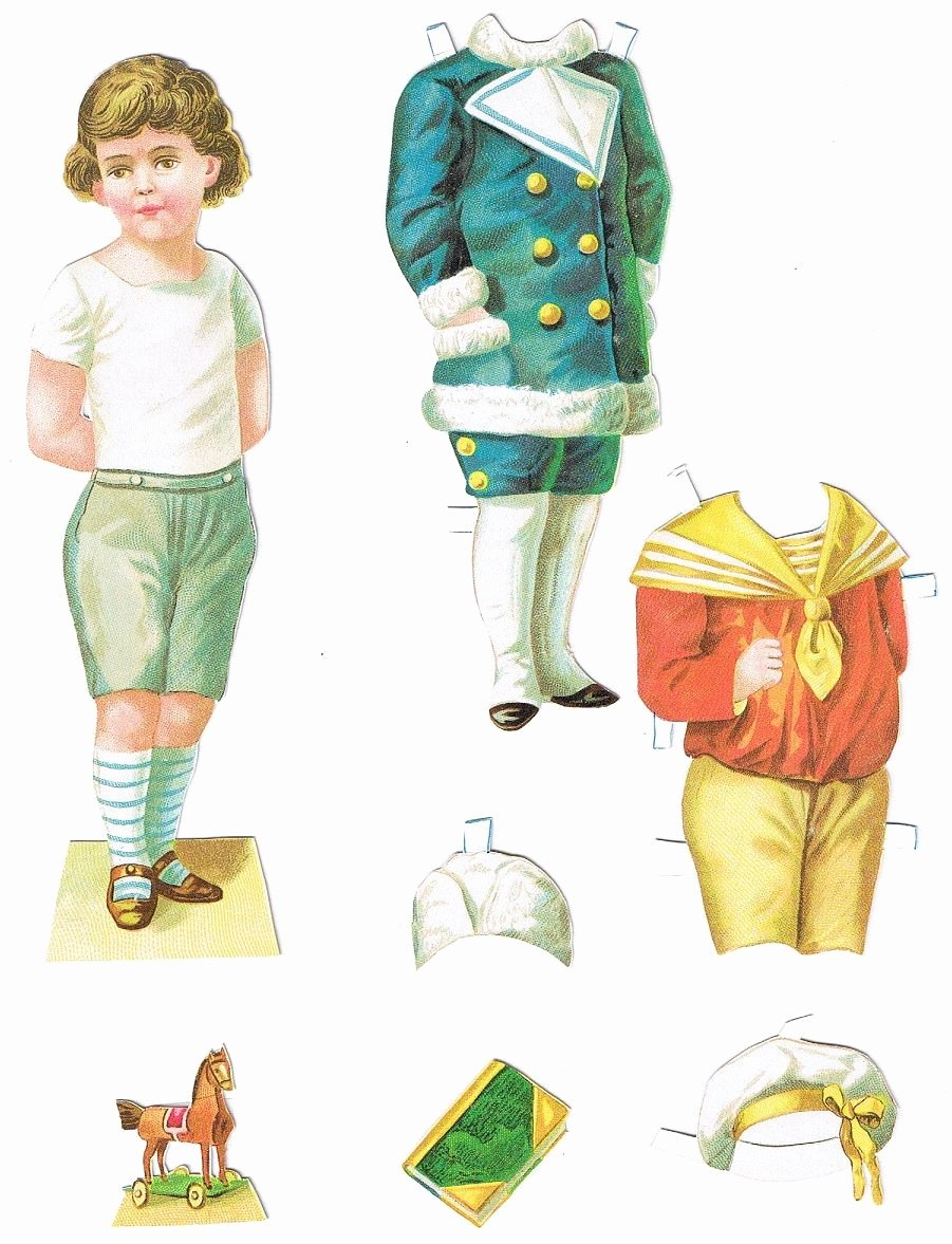 Male Paper Doll Inspirational Paper Doll Boy Dolls