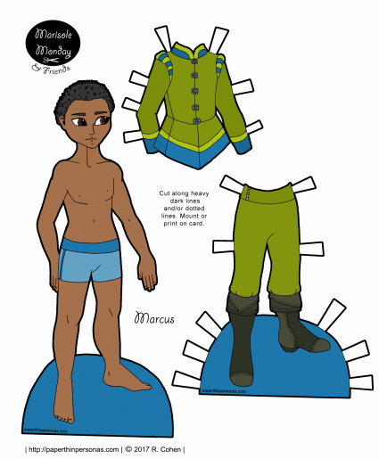 Male Paper Doll Lovely Guys Archives • Paper Thin Personas