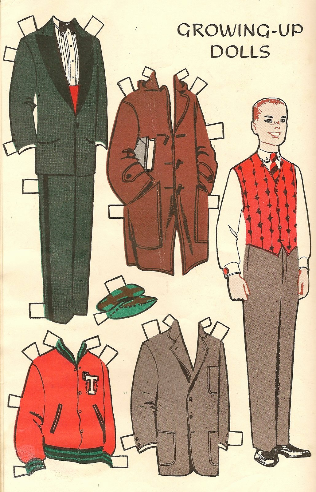 Male Paper Doll Lovely More Puppetry Page 2 Renaissance Matryoshka More