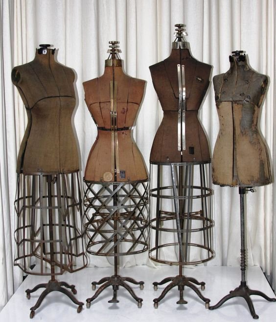 Mannequin Template for Fashion Design Awesome 25 Best Ideas About Vintage Dress forms On Pinterest