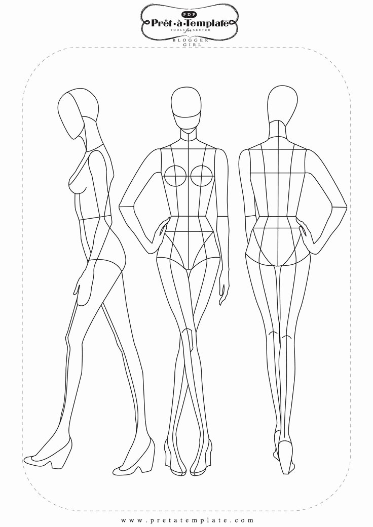 Mannequin Template for Fashion Design Awesome Pin by Tzu Yueh Chen On Fashion Illustration